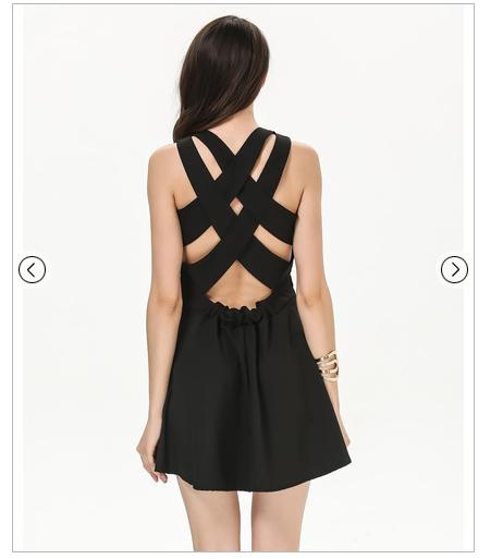 crna haljina 16,67